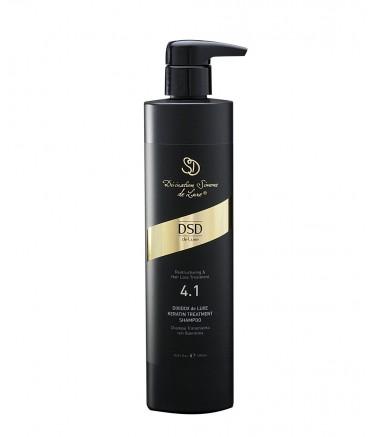 4.1 Восстанавливающий Шампунь с Кератином 500 мл Keratin Shampoo